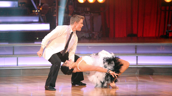 Talk show host and actress Ricki Lake and her partner Derek Hough received 27 out of 30 from the judges for their Cha Cha Cha and 27 out of 30 for their Freestyle dance for a total of 54 out of 60 points on the November 21 episode of &#39;Dancing With The Stars.&#39; <span class=meta>(ABC Photo)</span>