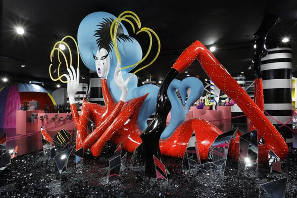 "<div class=""meta ""><span class=""caption-text "">Photos of 'Gaga's Workshop' at Barneys New York from the unveiling on November 21.  Gaga teamed with Barneys New York to open 'Gaga's Workshop,' which is a take on Santa's iconic and traditional workshop. The 25-year-old singer teamed with other creative talents to create a quirky holiday destination filled with exclusive products and festive holiday windows. Barneys New York is donating 25 percent of sales from the featured items to the Born This Way Foundation, recently founded and announced by Gaga and her mother.  (Pictured: Photos of 'Gaga's Workshop' at Barneys New York from the unveiling on November 21.)  (Tom Sibley)</span></div>"