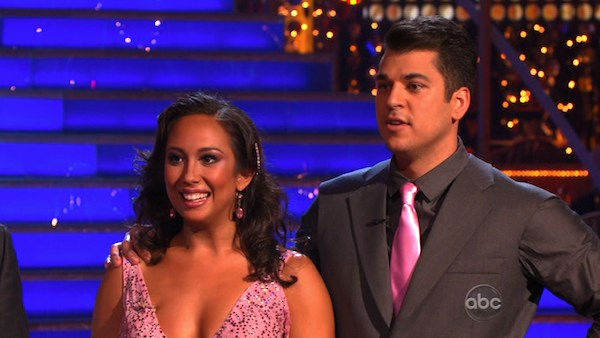 'Keeping Up With The Kardashians' star Rob Kardashian and his partner Cheryl Burke received 27 out of 30 from the judges for their Waltz and 30 out of 30 for their Freestyle dance for a total of 57 points out of 60 on the November 21 episode of 'Dancing W