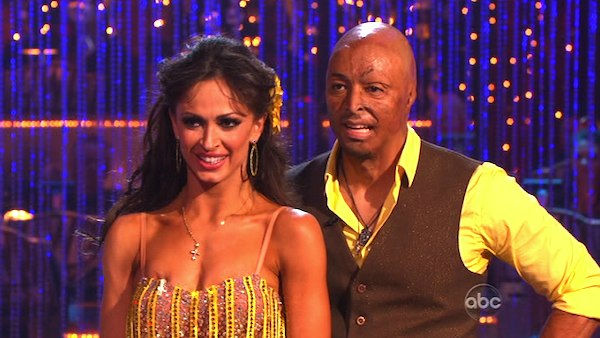 "<div class=""meta image-caption""><div class=""origin-logo origin-image ""><span></span></div><span class=""caption-text"">'All My Children' actor and Iraq War veteran J.R. Martinez and his partner Karina Smirnoff received 24 out of 30 from the judges for their Cha Cha Cha and 30 out of 30 for their Freestyle dance for a total of 53 out of 60 points on the November 21 episode of 'Dancing With The Stars.' (ABC Photo)</span></div>"