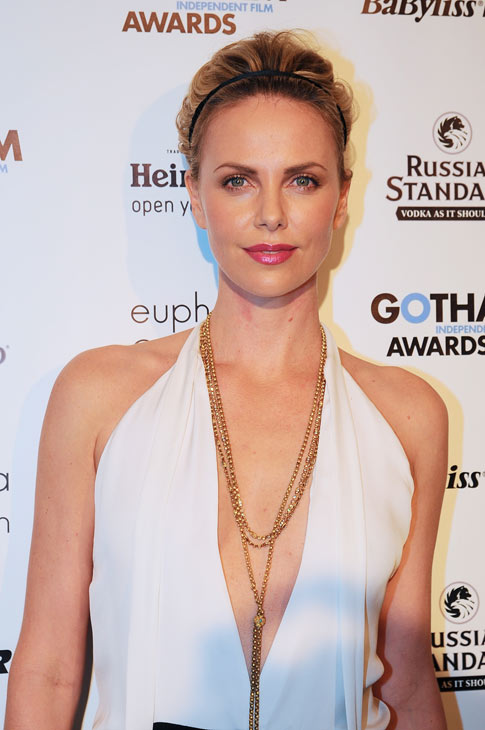 "<div class=""meta image-caption""><div class=""origin-logo origin-image ""><span></span></div><span class=""caption-text"">Charlize Theron appears in a photo at the Gotham Awards in New York City on Nov. 28, 2011. (Deussen Global Communications, Inc.)</span></div>"