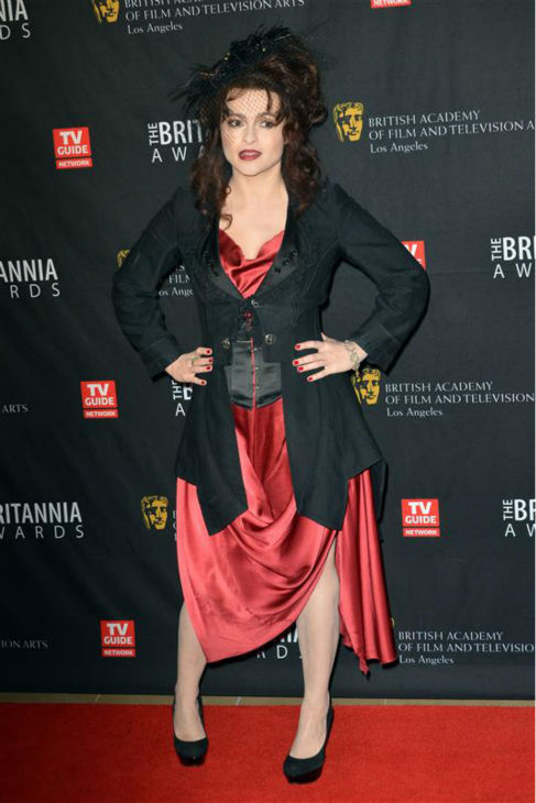 Helena Bonham Carter appears at the BAFTA Los Angeles Britannia Awards in Beverly Hills, California on Nov. 30, 2011. <span class=meta>(Tony DiMaio &#47; Startraksphoto.com)</span>