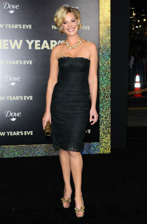 Katherine Heigl appears at the premiere of her movie &#39;New Year&#39;s Eve&#39; in Hollywood, Calfornia on Dec. 5, 2011. <span class=meta>(Sara De Boer &#47; Startraksphoto.com)</span>