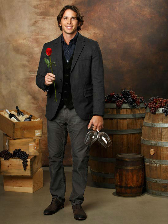 Ben Flajnik appears in a promotional photo for 'The Bachelor.'