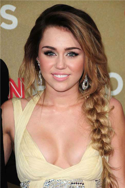 Miley Cyrus appears at the 2011 CNN Heroes: An All Star Tribute event in Los Angeles, California on Dec. 11, 2011.  <span class=meta>(Michael Williams &#47; startraksphoto.com)</span>