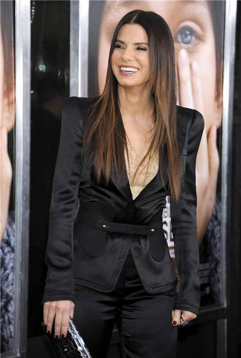 Sandra Bullock appears at the New York City premiere of her film 'Extremely Loud and Incredibly Close' on Dec. 15, 2011.