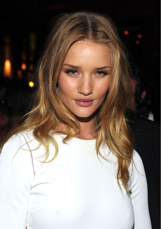 Actress Rosie Huntington-Whiteley arrives at the 2011 Maxim Hot 100 Party with New Era, Miller Lite, 2&#40;x&#41;ist and Silver Jeans Co. held at Eden on May 11, 2011 in Hollywood, California. <span class=meta>(John Shearer &#47; Getty Images &#47; Royalty-free)</span>