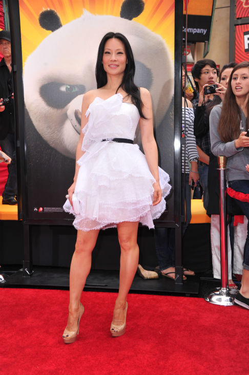 Lucy Liu arrives at DreamWorks Animation&#39;s &#39;Kung Fu Panda 2&#39; Los Angeles Premiere held at Grauman&#39;s Chinese Theatre on May 22, 2011 in Hollywood, California. <span class=meta>(Alberto E. Rodriguez &#47; Getty Images &#47; Royalty-free)</span>