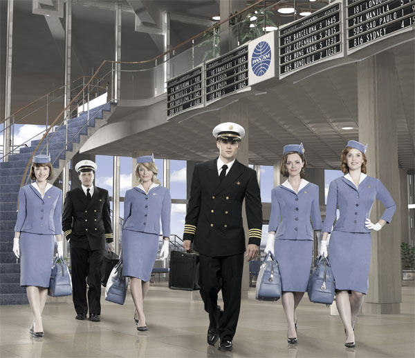 Still image of the cast from 'Pan Am.'