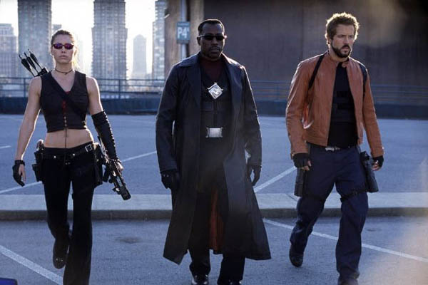 "<div class=""meta ""><span class=""caption-text "">'Blade: Trinity' (2004) The third (and to date final) film in the 'Blade' series added Ryan Reynolds and Jessica Biel in lead roles and pitted the Marvel comics superhero played by Wesley Snipes against Dracula himself (Dominic Purcell). Director Guillermo del Toro ('Pan's Labyrinth') brought his own unique visual flare to the production, resulting in a sharp looking film.  Vote for your favorite horror sequel! (Photo: Jessica Biel, Wesley Snipes and Ryan Reynolds appear in a scene from the 2004 film, 'Blade: Trinity.') (New Line Cinema)</span></div>"