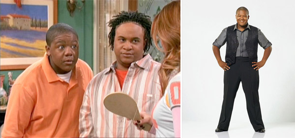 &#39;Dancing with the Stars&#39; finalist, Kyle Massey is sporting a new, slimmer physique after losing 8 inches on his waist and 18 lbs. overall.  Massey credited &#39;Dancing with the Stars&#39; with his weight loss. &#40;Pictured: Kyle Massey and Orlando Brown in a scene from &#39;That&#39;s So Suite Life of Hannah Montana&#39; and Massey on &#39;Dancing with the Stars&#39; in fall 2010&#41; <span class=meta>(Photos courtesy of Disney and ABC)</span>
