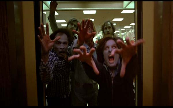 A scene from George A. Romero's 1978 film, 'Dawn...