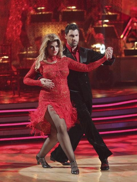 Kirstie Alley and her partner Maksim Chmerkovskiy dan