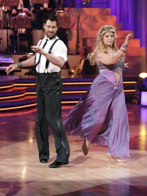 "<div class=""meta image-caption""><div class=""origin-logo origin-image ""><span></span></div><span class=""caption-text"">Kirstie Alley and her partner Maksim Chmerkovskiy dance Waltz on week fourof 'Dancing With The Stars.' The couple received a 22 out of 30 from the judges. (ABC/Adam Taylor)</span></div>"