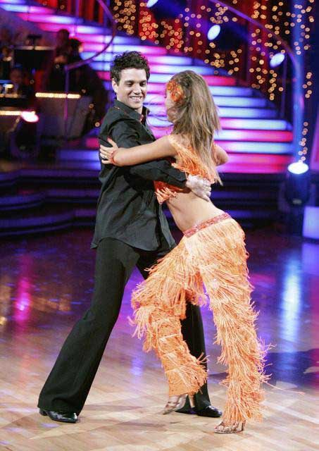 Ralph Macchio and his partner Karina Smirnoff dance an Argentine Tango and a Cha Cha on week eight of 'Dancing With The Stars.'