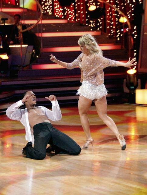 "<div class=""meta image-caption""><div class=""origin-logo origin-image ""><span></span></div><span class=""caption-text"">Romeo and his partner Chelsie Hightower dance a Tango and a Salsa on week eight of 'Dancing With The Stars.' The judges gave the couple 27 out of 30 for their Argentine Tango and 25 points out of 30 for their Salsa. The couple earned a total of 52 out of 60. (ABC/ Adam Taylor)</span></div>"