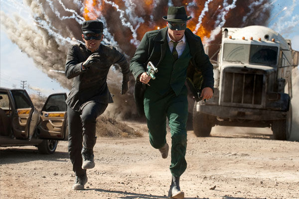 Seth Rogen appears in a scene from the 2010 film &#39;The Green Hornet&#39; as Britt Reid &#47; The Green Hornet. Jay Chou played his side-kick Kato, a role originated by Bruce Lee in the 1966 television series of the same name.  <span class=meta>(Columbia Pictures)</span>