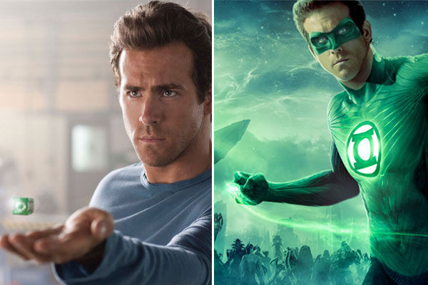 Ryan Reynolds plays Hal Jordan / Green Lantern...