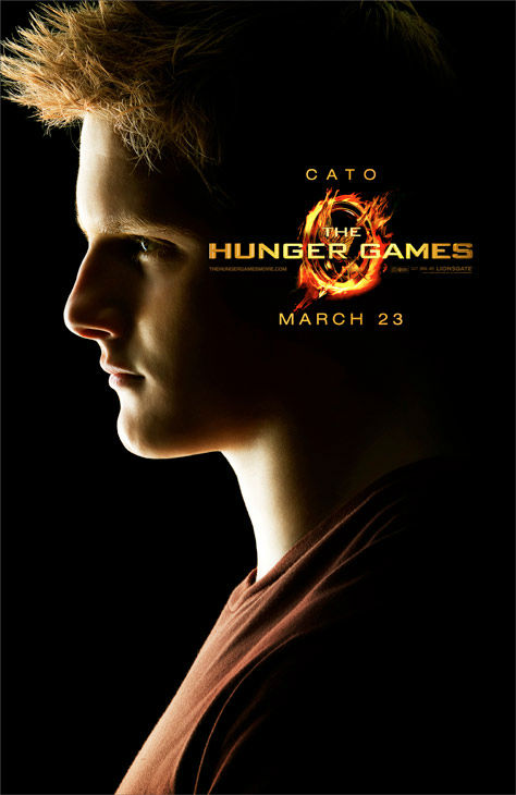 "<div class=""meta ""><span class=""caption-text "">Alexander Ludwig appears as Cato in an official poster for 'The Hunger Games,' which is slated for release on March 23, 2012. (Photo/Lionsgate)</span></div>"