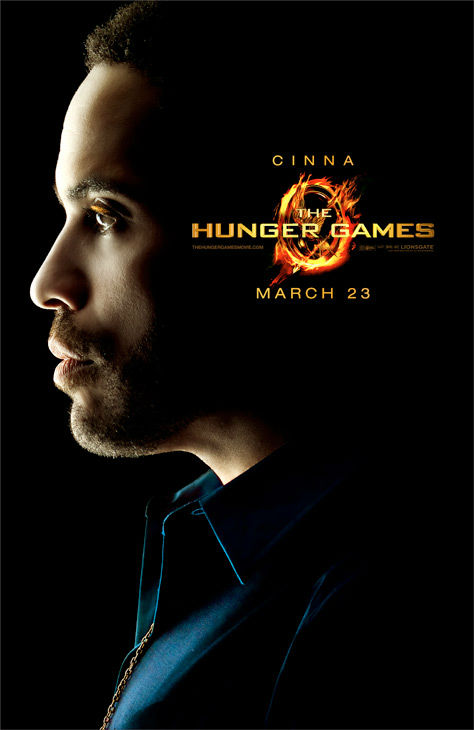 "<div class=""meta ""><span class=""caption-text "">Lenny Kravitz appears as Cinna in an official poster for 'The Hunger Games,' which is slated for release on March 23, 2012. (Photo/Lionsgate)</span></div>"