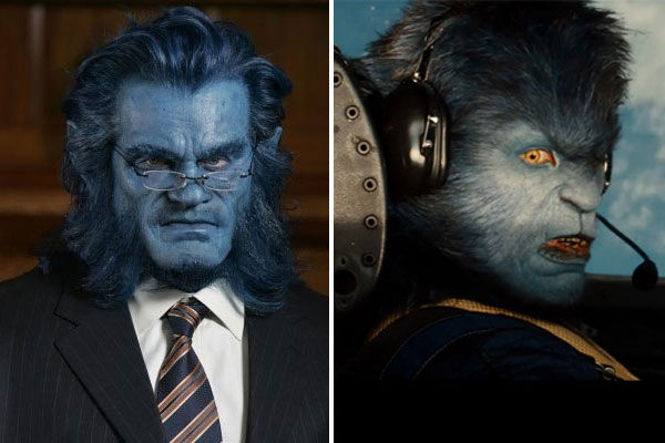 Nicholas Hoult appears as Dr. Hank McCoy / Beast...