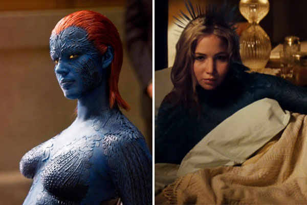 Jennifer Lawrence will play Mystique in &#39;X-Men: First Class.&#39; The role was originated on screen by Rebecca Romijn who played the character in the first three &#39;X-Men&#39; films. <span class=meta>(Twentieth Century Fox Film Corporation)</span>