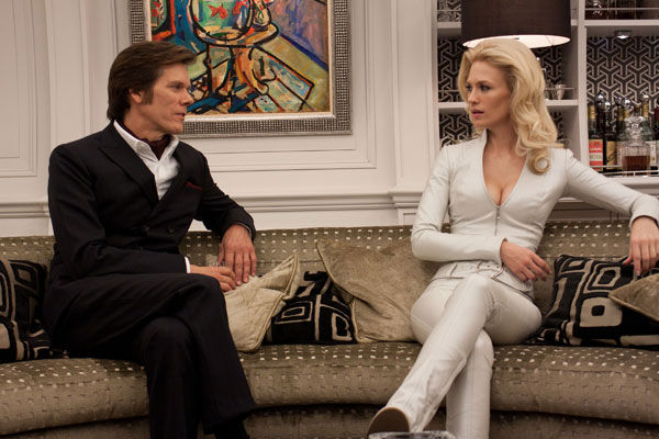 "<div class=""meta ""><span class=""caption-text "">January Jones will play Emma Frost / The White Queen in 'X-Men: First Class.' Jones appears in a scene opposite Kevin Bacon as Sebastian Shaw, leader of the Hellfire Club, an organization bent on world domination. (Twentieth Century Fox Film Corporation)</span></div>"