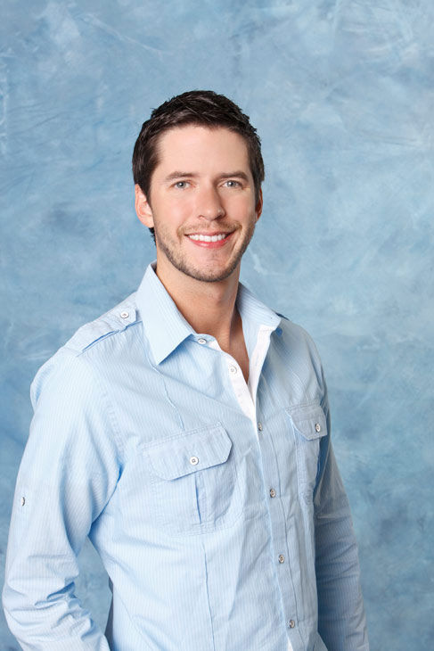 "<div class=""meta ""><span class=""caption-text "">Michael appears in a promotional photo for the seventh edition of 'The Bachelorette,' which premieres on Monday, May 23 (9:00-11:00 p.m., ET), on the ABC Television Network.  (ABC Photo/ Craig Sjodin)</span></div>"