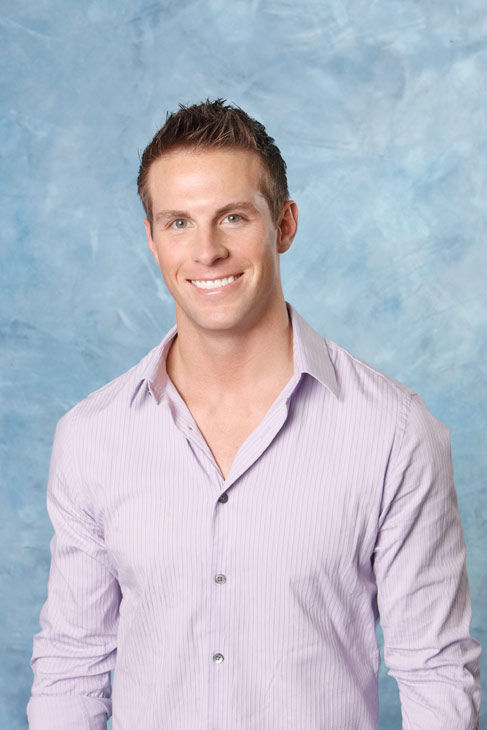 "<div class=""meta ""><span class=""caption-text "">Blake appears in a promotional photo for the seventh edition of 'The Bachelorette,' which premieres on Monday, May 23 (9:00-11:00 p.m., ET), on the ABC Television Network.  (ABC Photo/ Craig Sjodin)</span></div>"