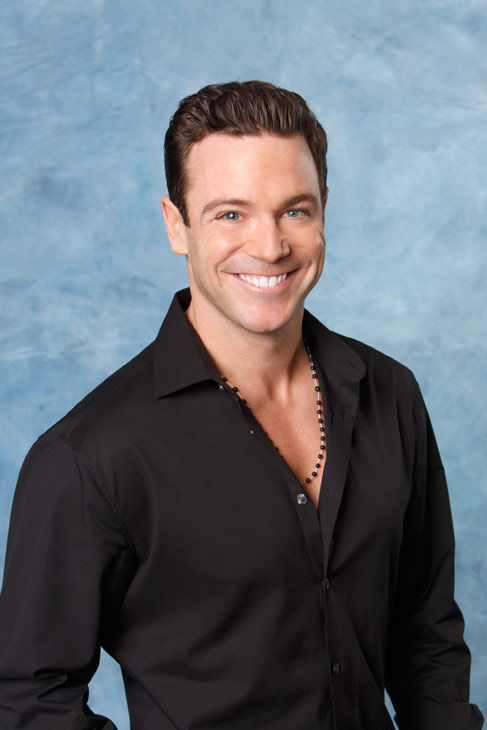 "<div class=""meta ""><span class=""caption-text "">Tim appears in a promotional photo for the seventh edition of 'The Bachelorette,' which premieres on Monday, May 23 (9:00-11:00 p.m., ET), on the ABC Television Network.  (ABC Photo/ Craig Sjodin)</span></div>"