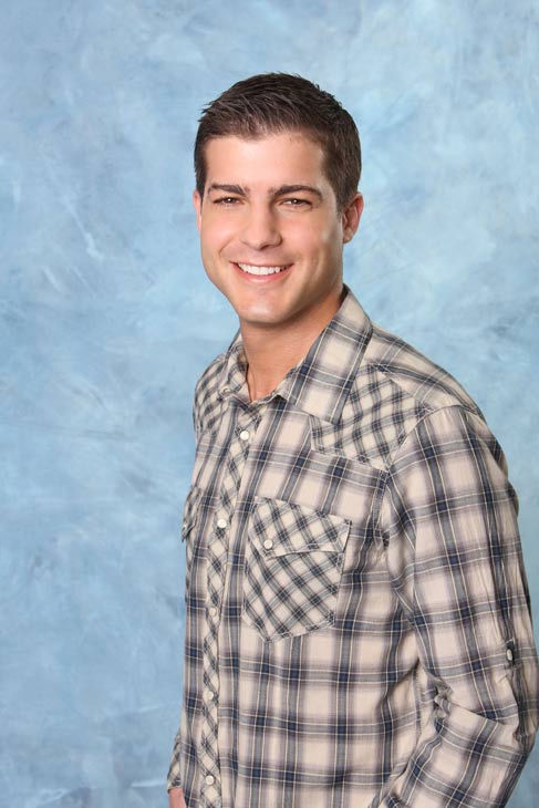 "<div class=""meta ""><span class=""caption-text "">Matt appears in a promotional photo for the seventh edition of 'The Bachelorette,' which premieres on Monday, May 23 (9:00-11:00 p.m., ET), on the ABC Television Network.  (ABC Photo/ Craig Sjodin)</span></div>"
