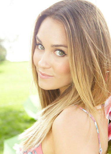 Lauren Conrad appears in a promotional photo...