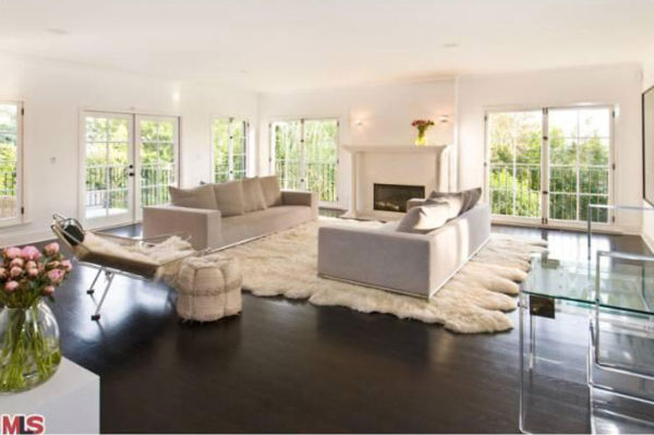 Katy Perry and Russell Brand's Los Angeles home....