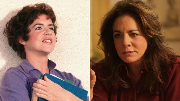 Stockard Channing - Rizzo Stockard Channing played Rizzo in the 1978 film. Though the actress was supposed to be playing a senior in high school, Channing was actually 34 years old.  In 1979 and 1980 Channing launched two failed sitcoms on CBS titled &#39;Stockard Channing in Just Friends&#39; and &#39;The Stockard Channing Show&#39; respectively.  The actress returned to Broadway during most of the 80s with roles in &#39;They&#39;re Playing Our Song&#39; and &#39;A Day in the Death of Joe Egg,&#39; which earned her a Tony Award for Best Actress in 1985.  Channing returned to the silver screen in 1993 when she reprised her Broadway role in &#39;Six Degrees of Separation,&#39; with Will Smith. The role earned her Golden Globe and Academy Award nominations. She went on to star in the films &#39;To Wong Foo, Thanks for Everything! Julie Newmar,&#39; &#39;The First Wives Club,&#39; &#39;Smoke&#39; and &#39;Up Close and Personal.&#39; In 1999 she returned to television as First Lady Abby Bartlet in the NBC hit series &#39;The West Wing.&#39; She won the Emmy Award for Outstanding Supporting Actress in a Drama Series in 2002 for her role on the series.  The actress has also done some voice work, narrating the series &#39;Meerkat Manor&#39; in 2008 before returning to Broadway in 2009 to star in the musical &#39;Pal Joey.&#39; Channing has been married four times. Her last marriage was to writer-producer David Debin. The couple divorced in 1980 and she has been involved with cinematographer Daniel Gillham for the last 20 years.  &#40;Pictured: Channing in &#39;Grease&#39; and the actress in the 2010 movie &#39;Multiple Sarcasms.&#39;&#41; <span class=meta>(Paramount &#47; Multiple Avenue Releasing)</span>