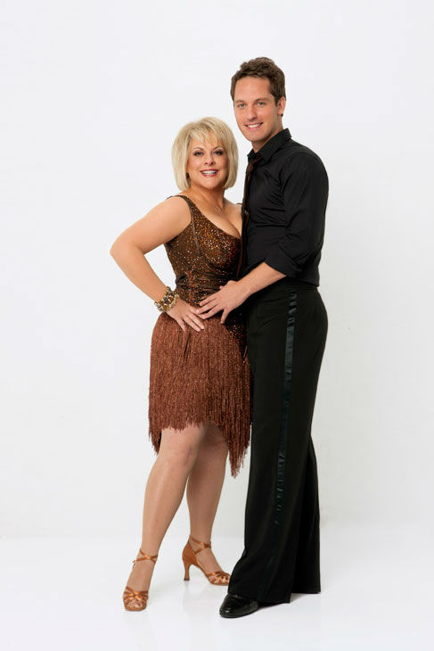 Television host Nancy Grace joins dance professional Tristan Macmanus