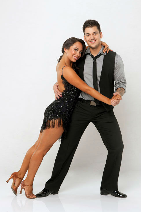 "<div class=""meta ""><span class=""caption-text "">'Keeping Up With The Kardashians' star Rob Kardashian joins dance professional Cheryl Burke on season 13 of 'Dancing With The Stars,' which premieres on September 18 at 8 p.m. (ABC Photo/ Craig Sjodin)</span></div>"