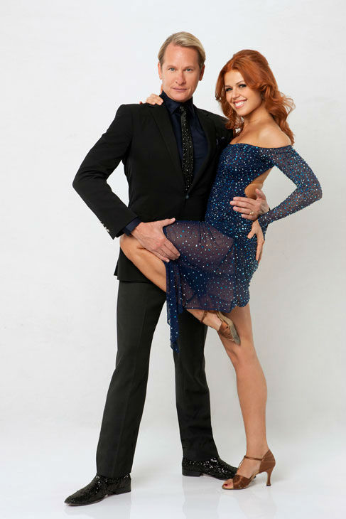 Television personality Carson Kressley joins dance professional Anna Trebunskaya on season 13 of 'Dancing