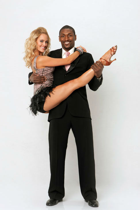 Los Angeles Laker Ron Artest joins dance...