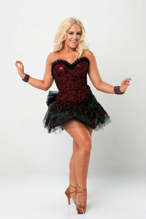 Dance professional Lacey Schwimmer is partnered