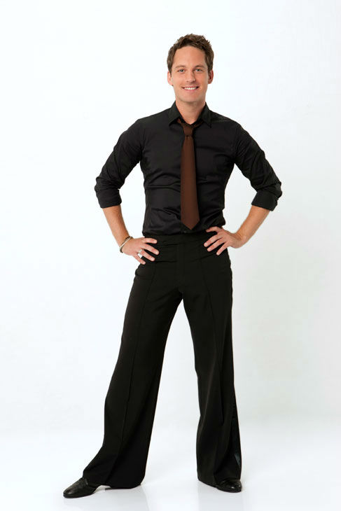 Dance professional Tristan Macmanus is partnered...