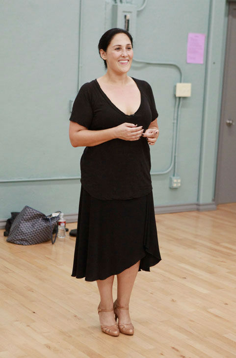 Actress and talk show host Ricki Lake appears in a rehearsal photo for season 13 of 'Dancing With the Stars.'
