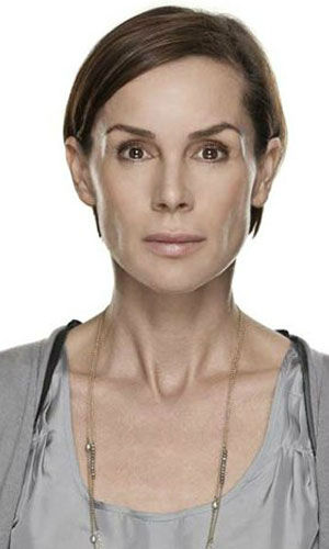 Embeth Davidtz as Annika Blomkvist Davidtz plays Ammola Blomkvist, Mikael Blomkvist&#39;s sister and an attorney who specializes in family law.  &#40;Pictured: Davidtz in a promotional still for &#39;The Girl With The Dragon Tattoo.&#39;&#41; <span class=meta>(Columbia Pictures &#47; MGM)</span>