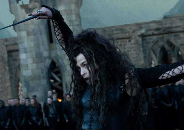 "<div class=""meta image-caption""><div class=""origin-logo origin-image ""><span></span></div><span class=""caption-text"">Bellatrix Lestrange (Helena Bonham Carter) appears in a scene from the 2011 film 'Harry Potter and the Deathly Hallows - Part 2.' (Warner Bros. Pictures)</span></div>"