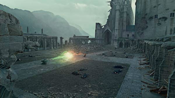Harry Potter &#40;Daniel Radcliffe&#41; and Lord Voldemort &#40;Ralph Fiennes&#41; appear in a scene from the 2011 film &#39;Harry Potter and the Deathly Hallows - Part 2.&#39; <span class=meta>(Warner Bros. Pictures)</span>