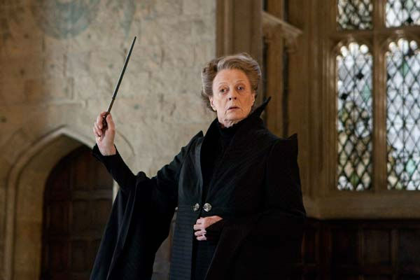 "<div class=""meta image-caption""><div class=""origin-logo origin-image ""><span></span></div><span class=""caption-text"">Professor Minerva McGonagall (Maggie Smith) appears in a scene from the 2011 film 'Harry Potter and the Deathly Hallows - Part 2.' (Warner Bros. Pictures)</span></div>"