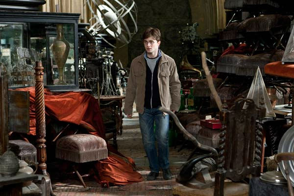 Harry Potter (Daniel Radcliffe) in a scene from...