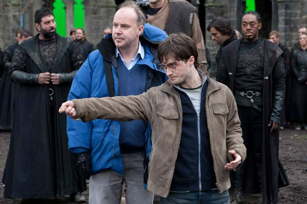 Director David Yates and Daniel Radcliffe shoot the 2011 film &#39;Harry Potter and the Deathly Hallows - Part 2.&#39; <span class=meta>(Warner Bros. Pictures)</span>