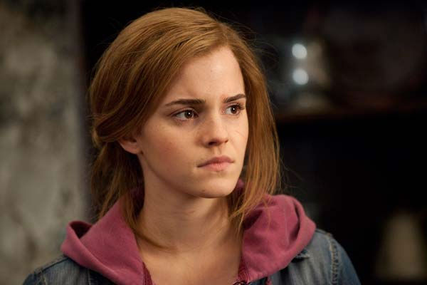 Hermione Granger (Emma Watson) appears in a scene from the 2011 film 'Harry Potter and the Deathly Hallows - Part 2.'