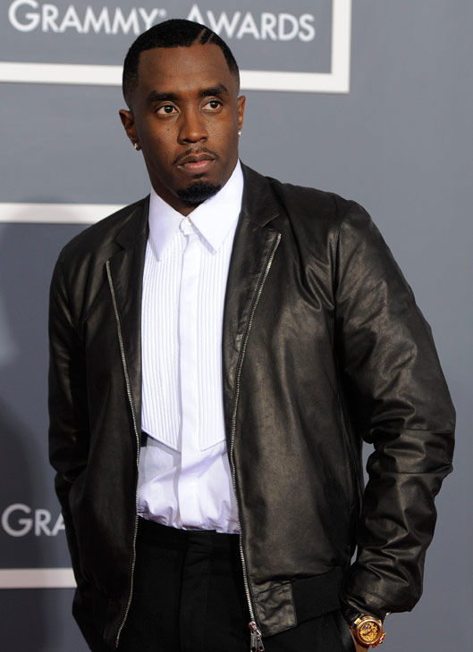 "<div class=""meta ""><span class=""caption-text "">Sean ""Diddy"" Combs arrives at the 53rd annual Grammy Awards on Sunday, Feb. 13, 2011, in Los Angeles.  (Photo/Chris Pizzello)</span></div>"