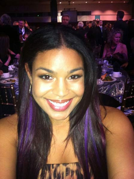 Jordin Sparks appears in a photo from her Twitter page